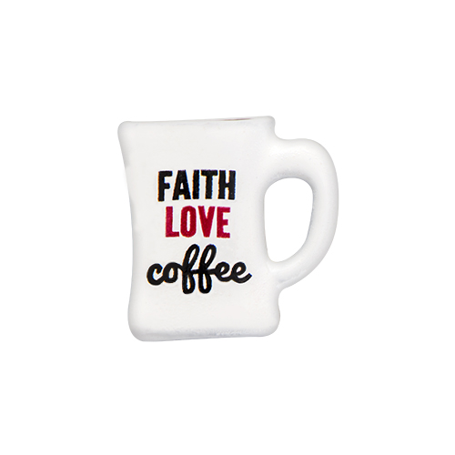 CH3127 Faith Love Coffee Mug Charm